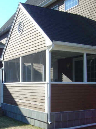 Sunroom 3 season porch boston, ma screens